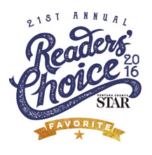 Ventura County Star Readers Choice 2016